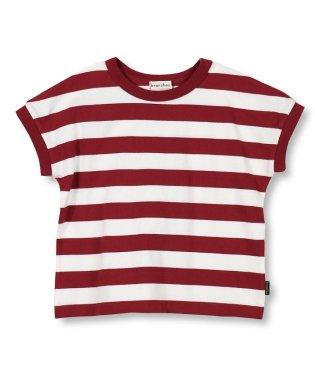 先染めボーダーTシャツ