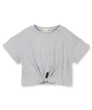 ウエスト結び半袖Tシャツ
