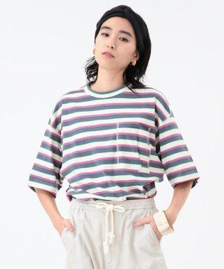 Name. × Ray BEAMS / 別注 ボーダーTシャツ