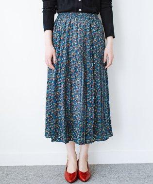 これを着てお出かけしたくなる!はきやすくて気分が上がる花柄プリーツスカート