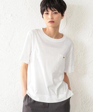 【ウォッシャブル】ファインベールカットソー(ワッペン)
