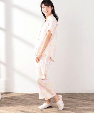 フラワー柄半袖パジャマセット