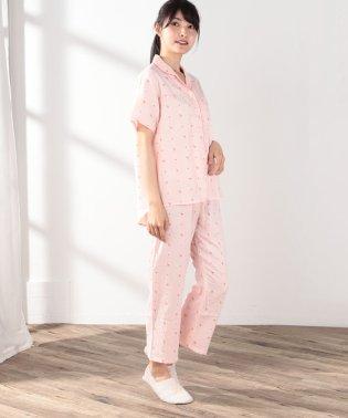 フラミンゴ柄半袖パジャマセット