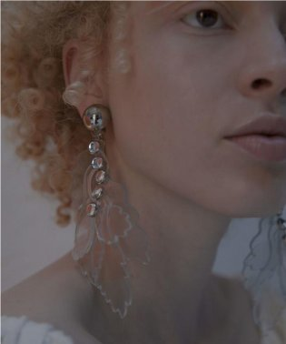 THE Dallas(ザ・ダラス)  clear reef earring  D9S-47