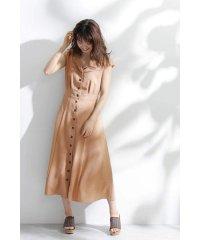 ◆オープンカラーサマードレス