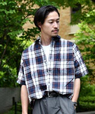 SU:【HEAVENLY COTTON】チェック柄 ショートスリーブシャツ