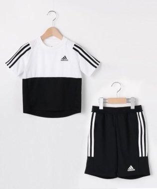 【100-160cm】adidas セットアップ(一部店舗・WEB限定)