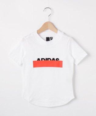 【110-160cm】adidas シャドーロゴTシャツ(一部店舗・WEB限定)
