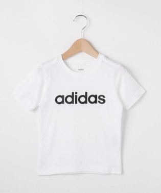 【110-160cm】adidas ロゴTシャツ(一部店舗・WEB限定)