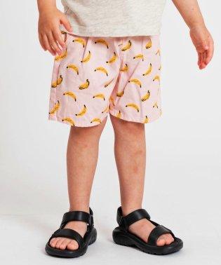 SHIPS KIDS:バナナ ショーツ(80~90cm)
