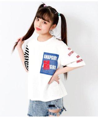 袖アシメBIGTシャツ