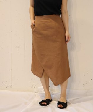 【セットアップ対応商品】セミフレアスカート
