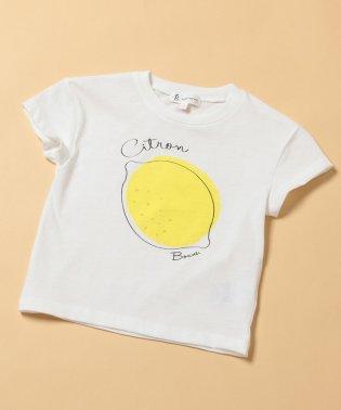 【ROPE' PICNIC KIDS】フルーツ柄プリントTシャツ
