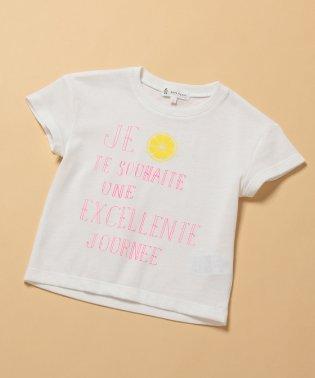 【ROPE' PICNIC KIDS】メッセージプリントTシャツ