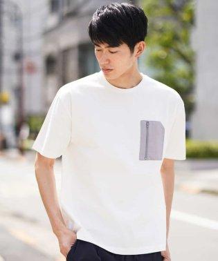 ZIPポケットTシャツ