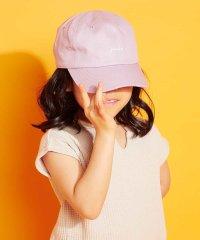 [KIDS]ロゴ刺繍キャップ
