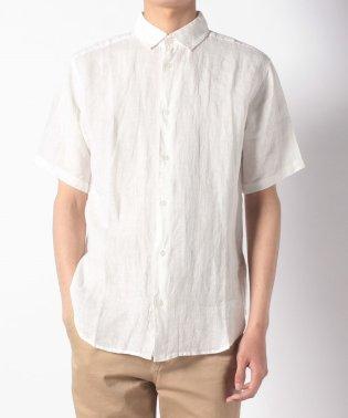 【WAREHOUSE】フレンチリネン半袖レギュラーシャツ
