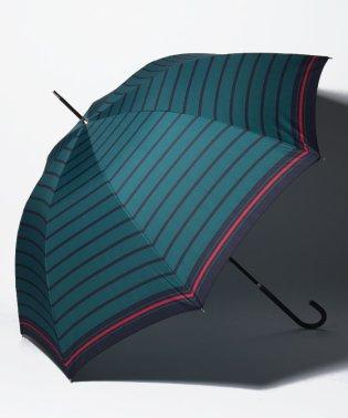 マリンボーダー長傘 雨傘