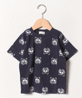 トラ総柄Tシャツ