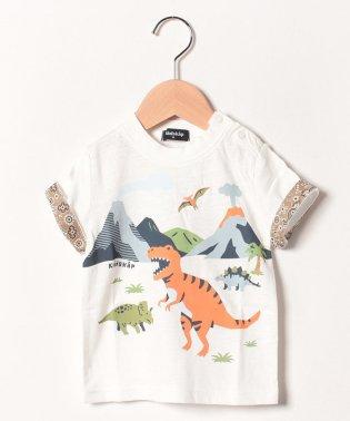 恐竜の世界半袖Tシャツ