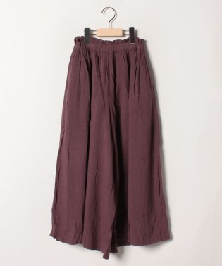 Jr.HIGH WAIST WIDE PANTS