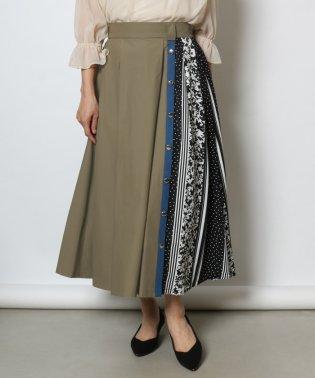 GRANDTABLE(グランターブル) フラワードットパネルスカート