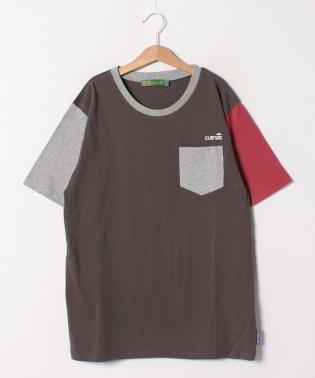 アシメ配色TEE(170cm)