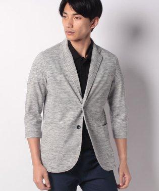 7分袖 ポップコーン カットテーラードジャケット
