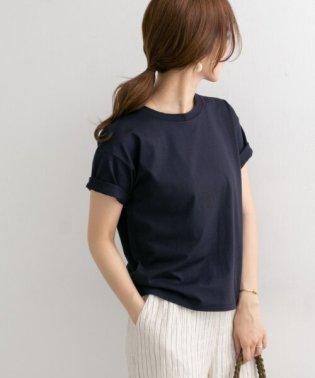 スペインコットンクルーネックTシャツ