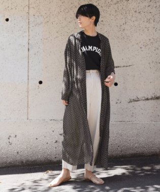 SOIL×DOORS 別注BANDED COLLAR ONE-PIECE