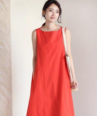 ◆コットン100%で着やすさバツグン◆テントラインワンピース