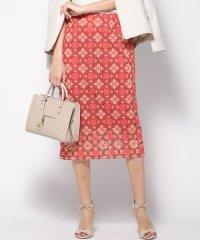 刺繍トルコレースタイトスカート