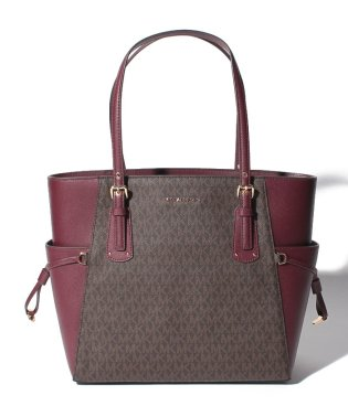【MICHAEL MICHAEL KORS】トートバッグ/VOYAGER【OXBLOOD】