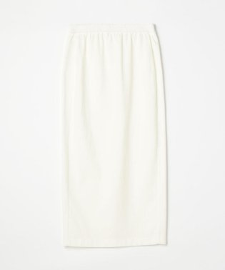 スーピマコットンジャージー バックスリットタイトスカート