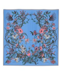 花柄プリントスカーフ