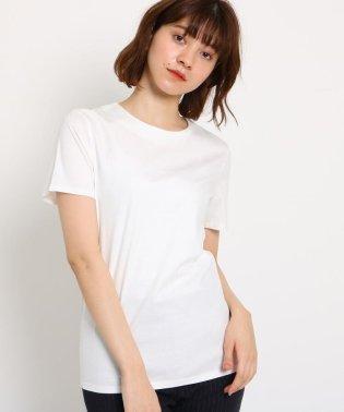 【洗える】コットンスムースベーシックTシャツ