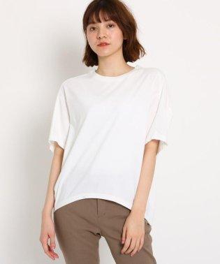 【洗える】コットン天竺オーバーサイズTシャツ