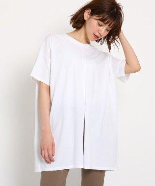 【洗える】コットン天竺 2WAYデザインTシャツ