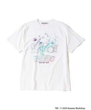 【WEB限定カラー】FUJI ROCK FESTIVAL'19 × BEAMS / SESAME STREET 3ピース Tシャツ