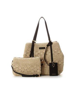 かご編みトートバッグ
