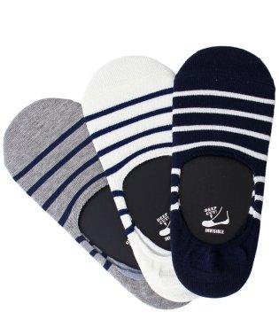 Healthknit(ヘルスニット)3足セット靴下インステップソックス