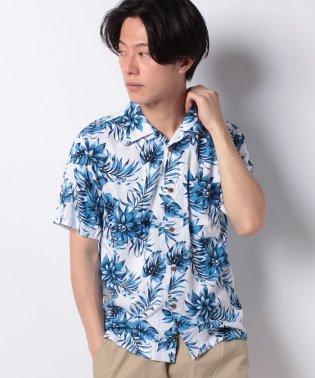 【BLUE STANDARD】レーヨンアロハシャツ