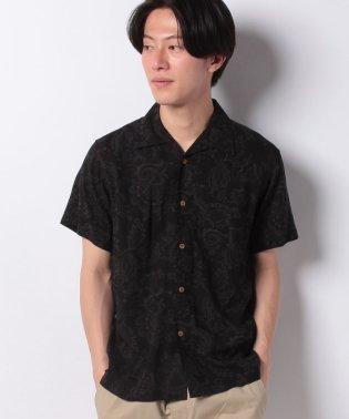 【BLUE STANDARD】レーヨンオープンカラーシャツ
