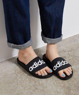 【adidas】ロゴスライドサンダル