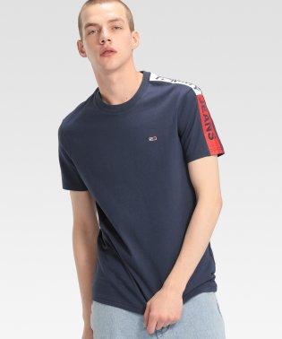ロゴデザインスリーブTシャツ