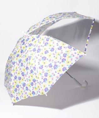 窓付き総柄傘