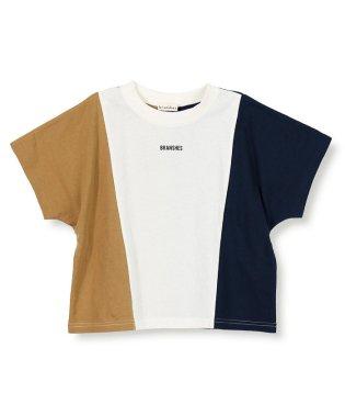 切り替え半袖Tシャツ