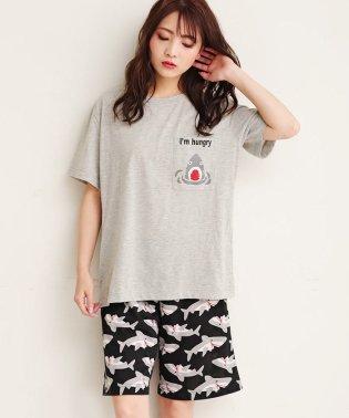 ペアポケットTシャツ 上下セット(男女兼用サイズ) (aimerfeel)
