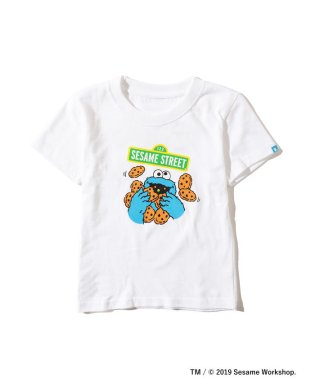 <KIDS>FUJI ROCK FESTIVAL'19 × BEAMS / SESAME STREET クッキーモンスター Tシャツ (90~140cm