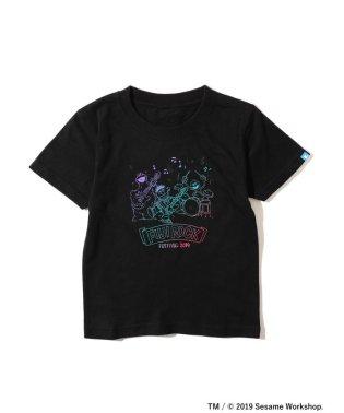 <KIDS>FUJI ROCK FESTIVAL'19 × BEAMS / SESAME STREET 3ピース Tシャツ (90~140cm)